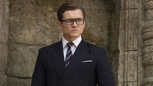 Taron Egerton is back as Eggsy