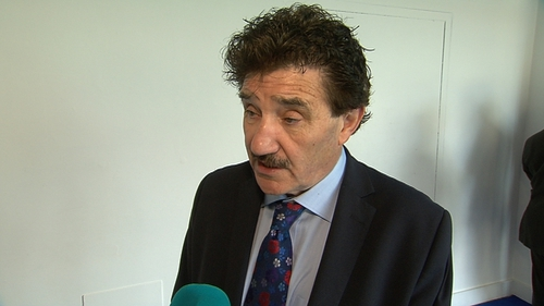 John Halligan said he would not be true to himself if he praised US President Donald Trump