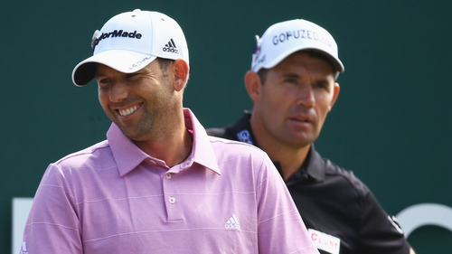 Harrington and Garcia's relationship 'the best it has ever been'