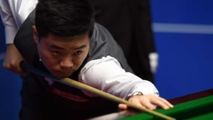 Ding Junhui was in fine form at the Crucible