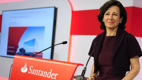 'Caution' at Santander UK as first quarter profits fall 1%