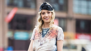 Bláthnaid Treacy is one of the celebrity judges at the Best Dressed Lady Competition at Punchestown Festival