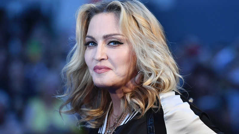 madonna makes stand up comedy debut