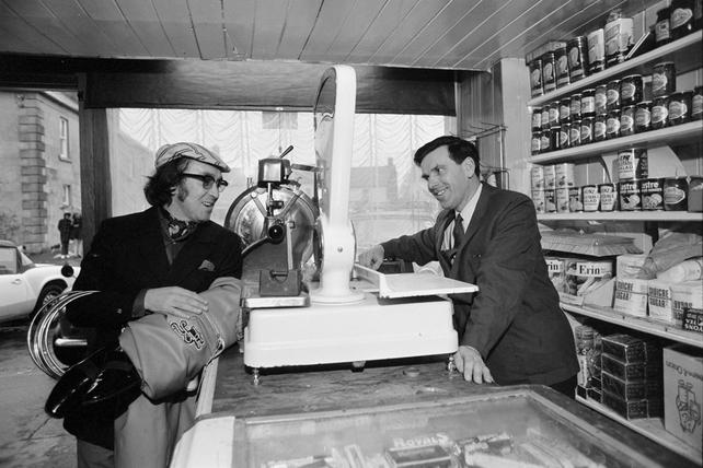 Hal Roach and pub owner Joe Germain