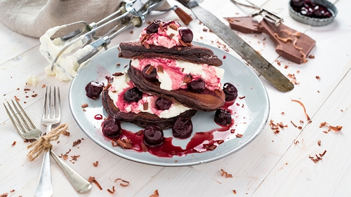 For the ultimate indulgence, try Black Forest Pancakes - a revamped version of the retro classic.