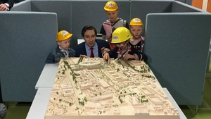 Minister for Health Simon Harris said 'there is light at the end of the tunnel now'