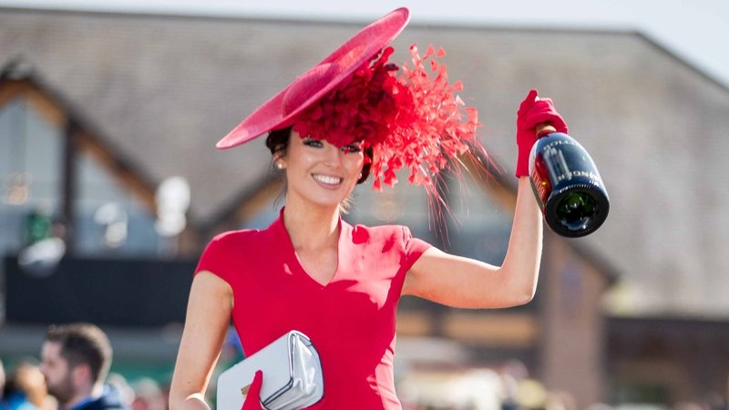 Punchestown Best Dressed Lady