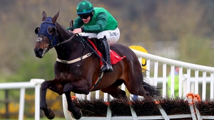 Paul Townend on board C'est Jersey clears the last to win The Louis Fitzgerald Hotel Hurdle