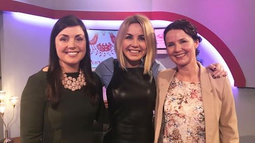 Dietitian Orla Walsh, RTÉ's Taragh Loughrey-Grant and blogging mum Andrea Mara