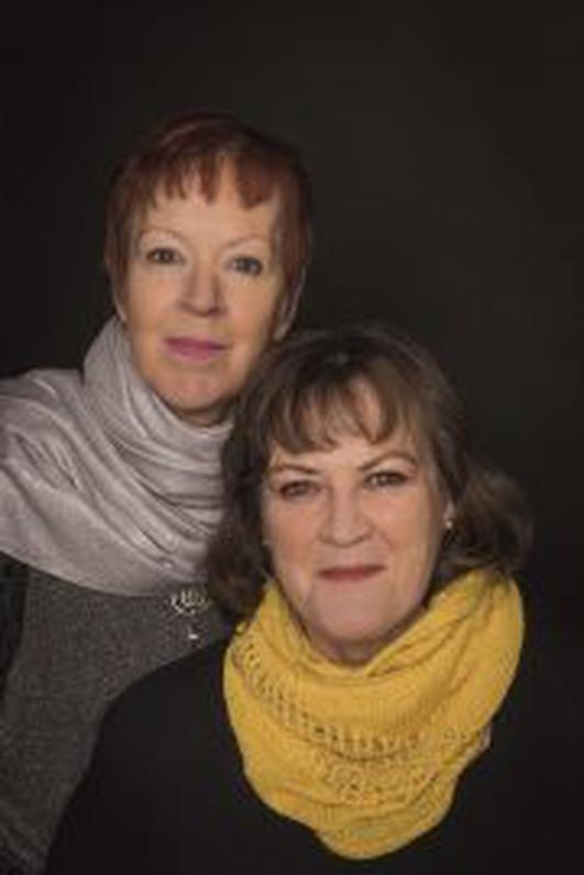 Maighread and Tríona Ní Dhomhnaill in session