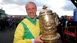 Robbie Power with the Punchestown Gold Cup