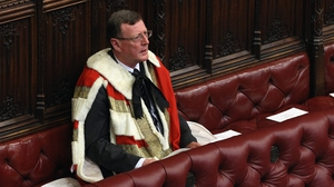 Former NI first minister David Trimble now sits in the House of Lords