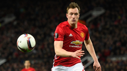 Phil Jones is sidelined with an ankle injury at present