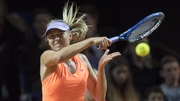Sharapova has received a mixed welcome back to the WTA tour
