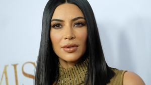 Kim Kardashian says she is