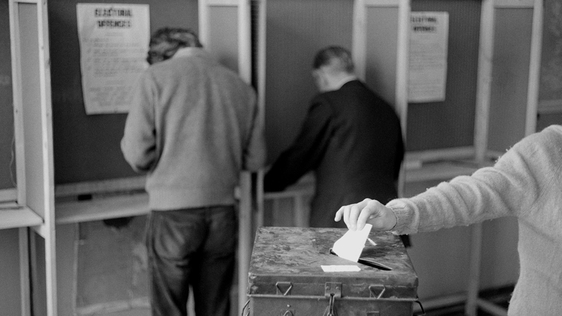 Voting in the EEC referendum 1972