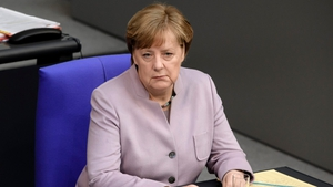 Angela Merkel also said talks on Britain's financial obligations to the EU would have to be addressed early on in the talks