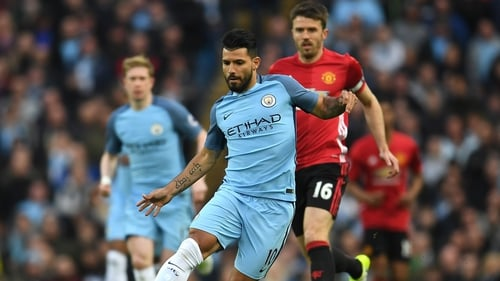 Sergio Aguero: Manchester City striker's future has 'never been a doubt' - chairman