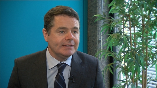 Paschal Donohoe said the Government had a clear agendaabout productivity that would be required from government employees