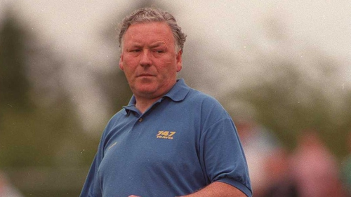 Donie Shine during his time as Roscommon manager in the 1990's
