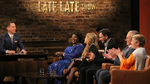 The Late Late Show: New Irish Citizens