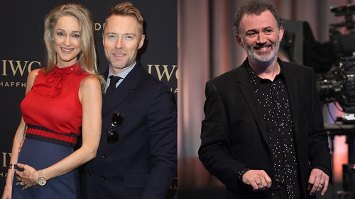 Ronan Keating and Storm Uechtritz celebrated the birth of their son; Tommy Tiernan found himself in hot water