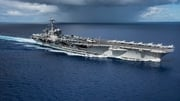 The US aircraft carrier USS Carl Vinson is taking part in drills with South Korea