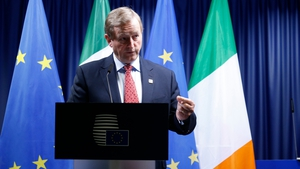 Enda Kenny said the inclusion of a declaration on Irish unity was hugely important