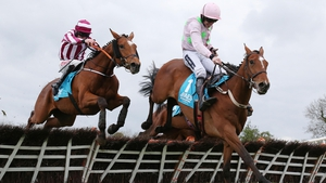 Ruby Walsh on board Bapaume clears the last to win