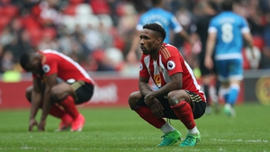 Jermaine Defoe and Sunderland have been relegated from the Premier League