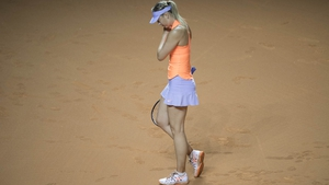 Sharapova was beaten by the world number 19