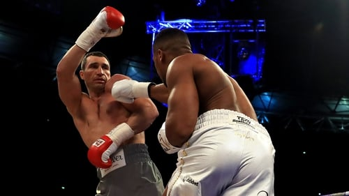 Anthony Joshua calls out Tyson Fury after Wembley victory over Wladimir Klitschko