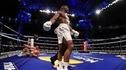 Anthony Joshua secured the victory in the 11th round