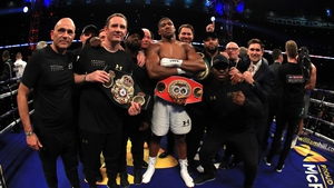 Anthony Joshua is now the undisputed king of the heavyweights
