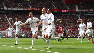 Swansea's Gylfi Sigurdsson scored at Old Trafford for the third game running