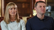 Kate and Gerry McCann pictured during a BBC interview ahead of the tenth anniversary of Madeleine's disappearance