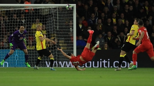 Emre Can's wondergoal put Liverpool ahead just before the break