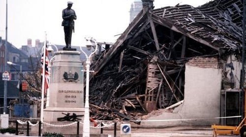 Bombings using Libyan weapons included the Enniskillen Remembrance Day ceremony blast in 1987