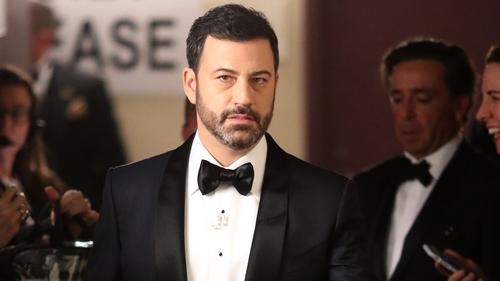 Jimmy Kimmel tells of newborn son's emergency surgery