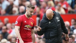 Luke Shaw looks set to feature against Swansea
