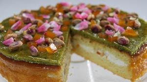 Rory O'Connell's Casatta - a Sicilian Cake