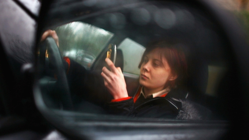 "Over 46 per cent of motorists say they see other drivers using hand-held 'phones ""on a daily basis""."