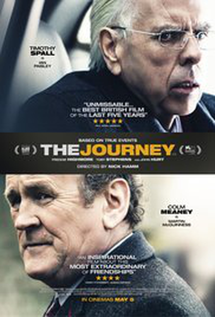 """The Journey"", starring Timothy Spall and Colm Meaney"