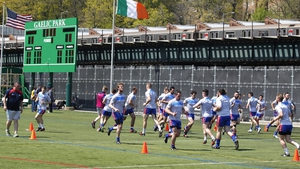 Gaelic Park in New York hosts the first football championship game of the summer
