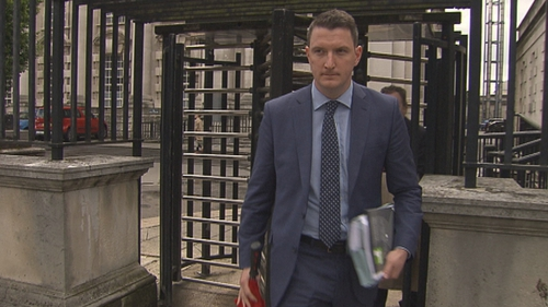 John Finucane witnessed his father being shot dead in the family home in 1989