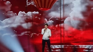 "Brendan Murray - ""There is going to be a helium hot air balloon above me. There's going to be lots of stuff in the background so it kind of looks like I am floating on air"""