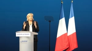 Marine Le Pen's speech closely resembled one delivered by Francois Fillon