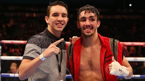 Michael, left, and Jamie Conlan