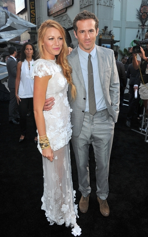 One of their first appearances as a couple during the 'Green Lantern' Premiere in 2011. Blake Lively wore an immaculate Chanel dress.