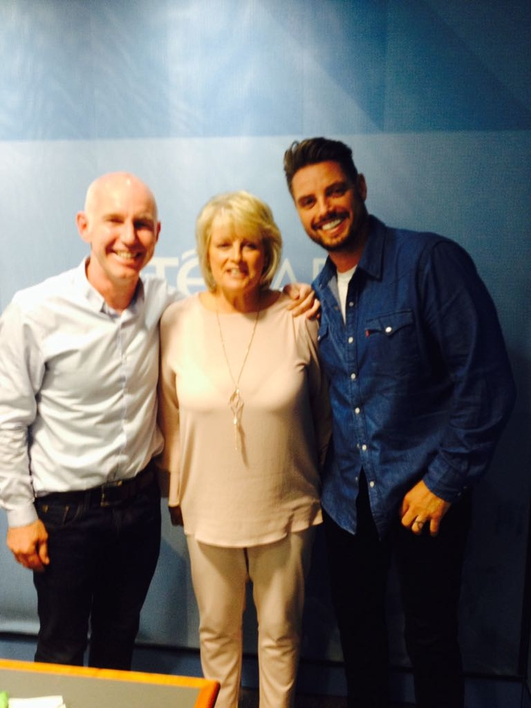 Keith Duffy and His Mam Pat
